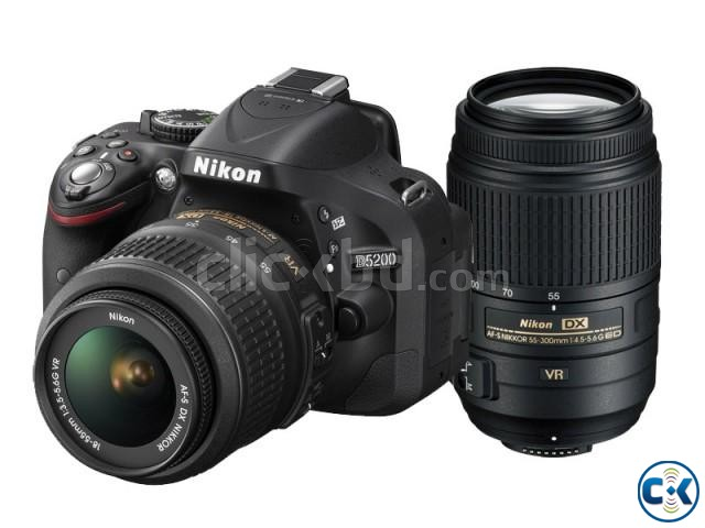 Nikon D5200 DSLR 24.1 MP With 18-55mm Lens | ClickBD large image 0