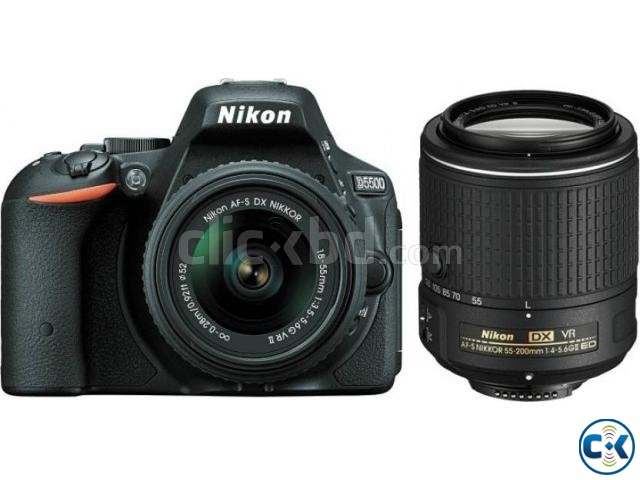 Nikon D5500 DSLR 24.2 MP Touch LCD With 18-55mm Lens | ClickBD large image 0