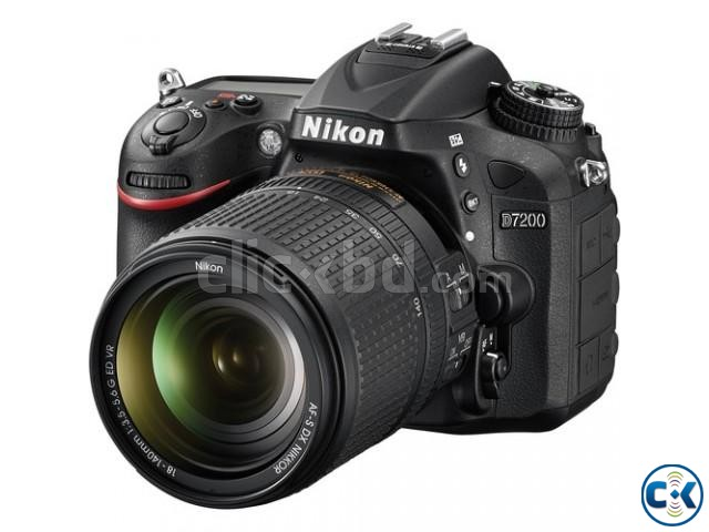 Nikon D7200 DSLR 24.2 MP With 18-140 mm Lens | ClickBD large image 1