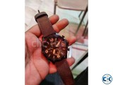 Fossil Nate Blacktone Brown Leather