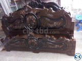 Malayasian Wood Made Bed 6 by 7 feel