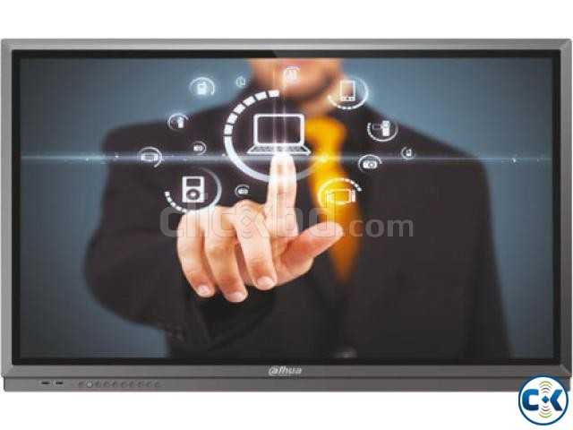 Dahua 86 Touch Screen 4k LED Windows Android TV | ClickBD large image 1