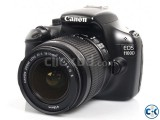 Canon EOS 1100D DSLR Camera with 18-55mm Kit Lens