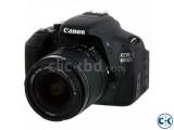 Canon EOS 600D 18-55 Lens DSLR Camera