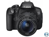 Canon EOS 700D DSLR 18.0 MP With 18-55mm Lens