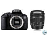 Canon EOS 800D Camera With 18-55 IS STM Lens