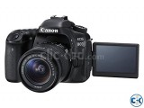 Canon EOS 80D DSLR with With 18-55mm Lens