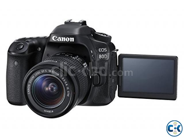 Canon EOS 80D DSLR with With 18-55mm Lens | ClickBD large image 0