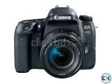 Canon 77D DSLR 18-55Lens Camera