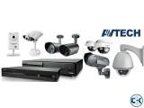 CCTV Camera 4Pc Total Packages 21 500 TK Brand Avtech.