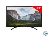 sony 43 W660F HDR FHD Smart LED TV