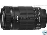 Canon EF-S 55-250mm f 4-5.6 IS STM Lens
