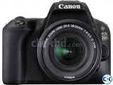 Canon EOS 200D KIT 24.2 MP With 18-55MM Lens DSLR Camera