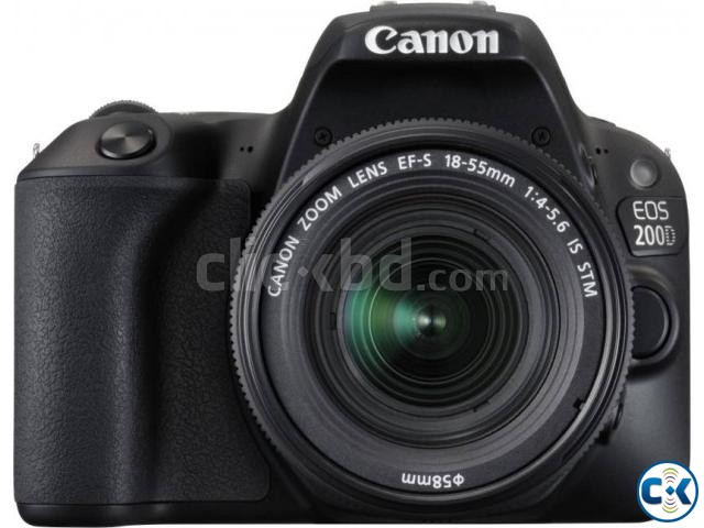 Canon EOS 200D KIT 24.2 MP With 18-55MM Lens DSLR Camera | ClickBD large image 0