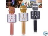 Wster WS-858 Wireless Handheld Bluetooth Karaoke Microphone