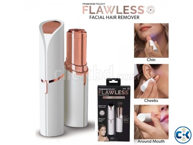 Flawless Facial Hair Remover   ClickBD large image 0