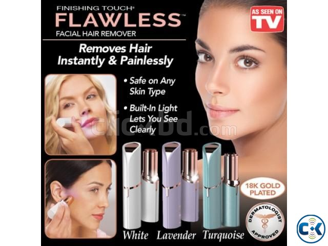 Flawless Facial Hair Remover   ClickBD large image 1