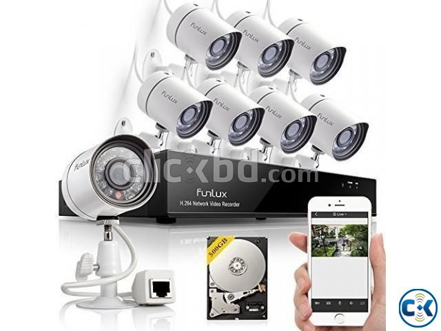CC Camera 08Pcs 08Ch DVR Full Package-01783383357 | ClickBD large image 1