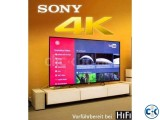 Sony Bravia X7500D 65 4K UHD Wi-Fi Smart Android TV