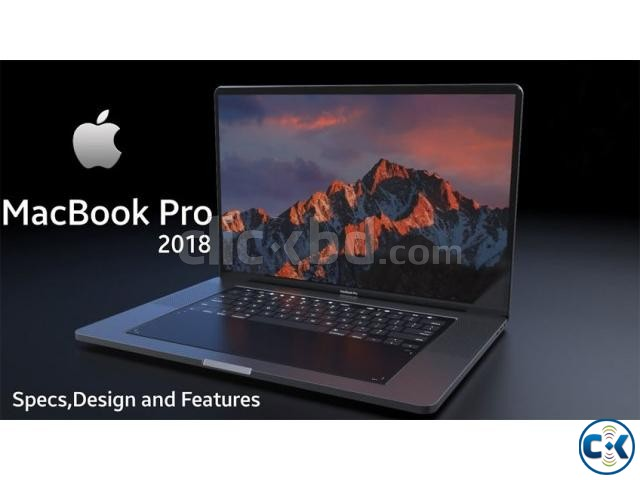 Brand New 13-inch MacBook Pro 512GB 2018 Sealed Pack | ClickBD large image 1