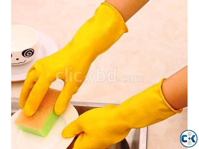 Heavy Duty Household Gloves | ClickBD large image 1