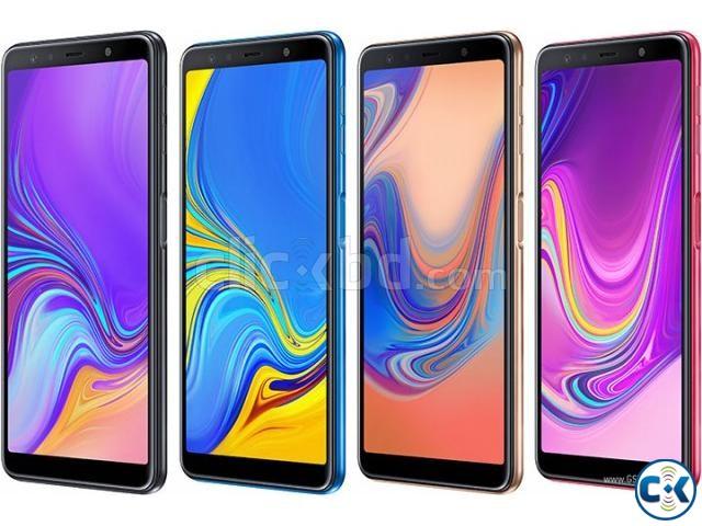 Brand New Samsung Galaxy A7 2018 128GB Sealed Pack 3 Yr Wnty | ClickBD large image 3