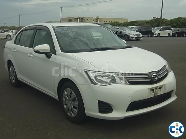 Toyota Axio 2013 x White | ClickBD large image 1
