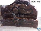 Malayasian Wood Made Bed 6 by 7 feet