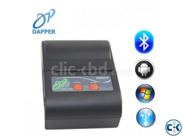 Portable Bluetooth Mobile Thermal printer | ClickBD large image 0