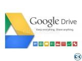 1 TB Terabyte Google drive id sell 1200 taka