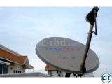 Tata Sky Full HD Dish Setup Recharge