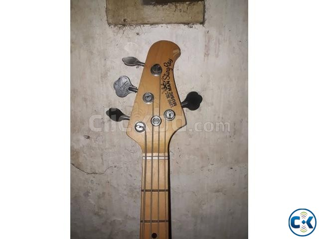 MUSICMAN StingRay 4 String Bass Guitar Made in USA  | ClickBD large image 0