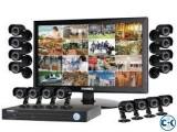 CC Camera 08Pcs 08Ch DVR Full Package