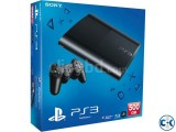 PS3 Super slim full fresh with warranty