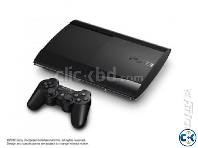 PS3 Super slim full fresh with warranty | ClickBD large image 1