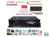 Egreat A11 Android HDR 4K Blu-ray HDD Dual HDMI Media Player