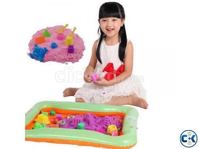 DIY Model Sand Kinetic colorful Sand 500g | ClickBD large image 0