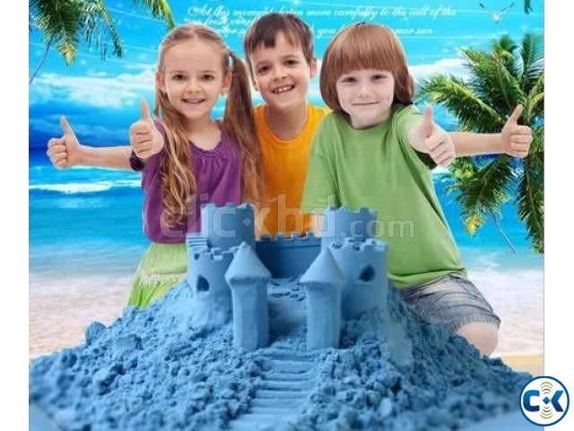 DIY Model Sand Kinetic colorful Sand 500g | ClickBD large image 1