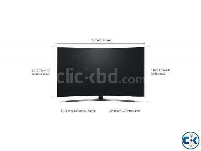SAMSUNG 78 KU6500 CURVED SMART TV LOWEST PRICE 01730482941 | ClickBD large image 0