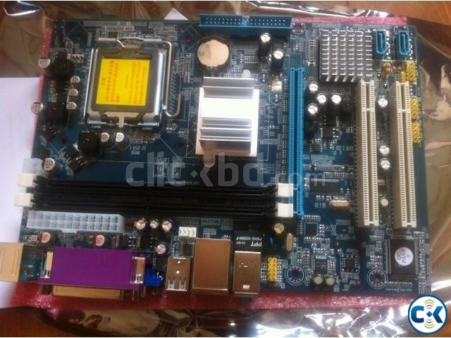 Esonic Motherboard with Processor and Ram | ClickBD large image 0