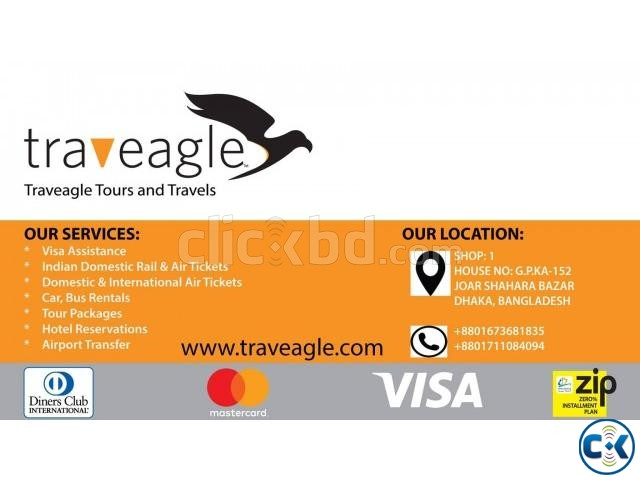 Indian Domestic Air Ticket   ClickBD large image 0