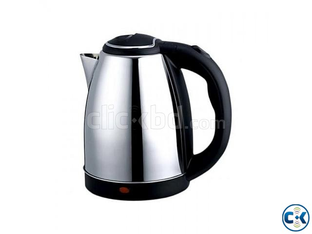 Scarlett Cordless Electric Kettle 1.7L Silver | ClickBD large image 0
