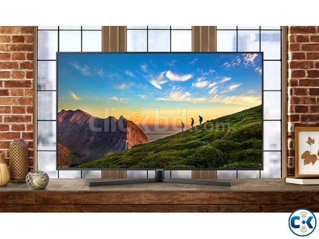 Samsung NU7400 55 Flat 4K UHD 20W Sound LED Smart TV | ClickBD large image 2