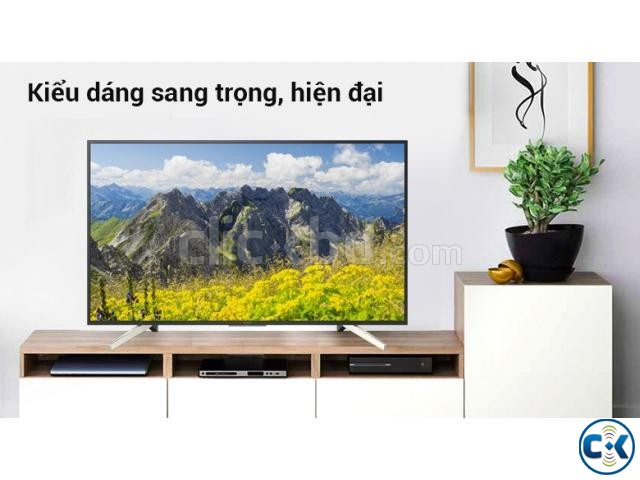 Sony Bravia KD-49X7500F 49 4K UHD LED Smart Television | ClickBD large image 1