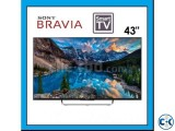 W800C 43 Inch Sony Bravia FHD Wi-Fi Smart 3D LED Android TV