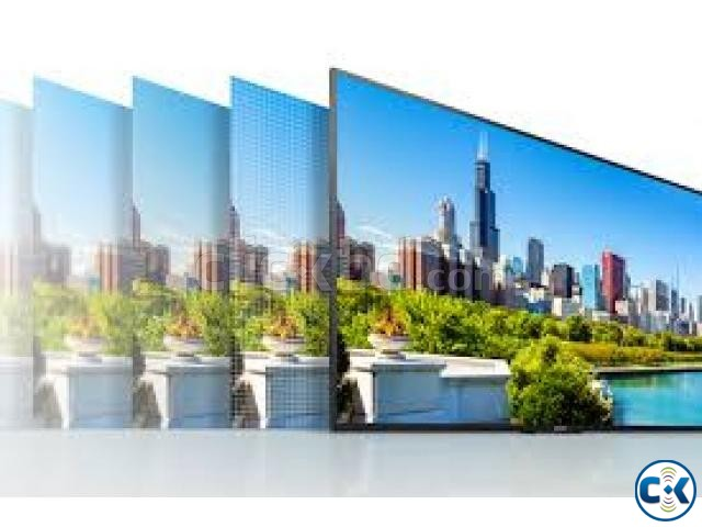 X7000E 43 inch Sony Bravia Wi-Fi Smart Slim 4K HDR LED TV | ClickBD large image 1