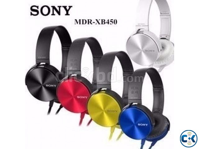 SONY MDR-XB 450 WERE HEADPHONE | ClickBD large image 1