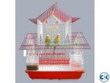 House Style Economy China Bird Cage two story