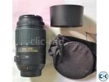 Nikon AF-S DX Nikkor 55-300mm f 4.5-5.6G ED VR lens
