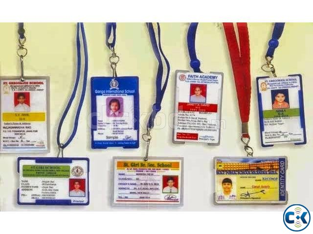 STUDENTS ID CARD FULL PACKAGE ID Card Print Casing Ribon  | ClickBD large image 3